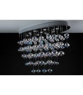 X-light Oval Chrome-clear glass