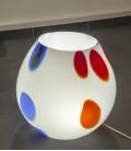 Váza-lampa Cerchi Brillanti