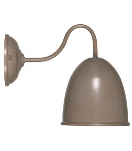 Old pharmacy Pale taupe metal