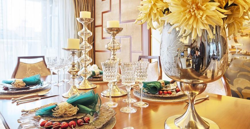 Zlatá barva je symbolem vznešenosti, bohatství a moci