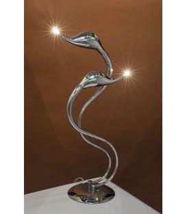 Lampa Labut chrom