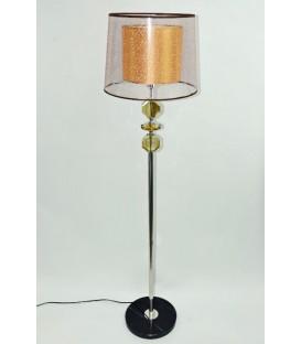 Lampa stojací béžová velká