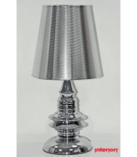 Lampa stolní strřibr malá